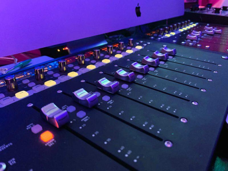 Infinite Recording Studios - Closeup