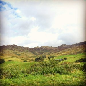 Highland tour to remote hill farm, Scotland