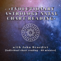 Individual Evolutionary Astrology Natal Chart Reading with John Benedict (60minutes)