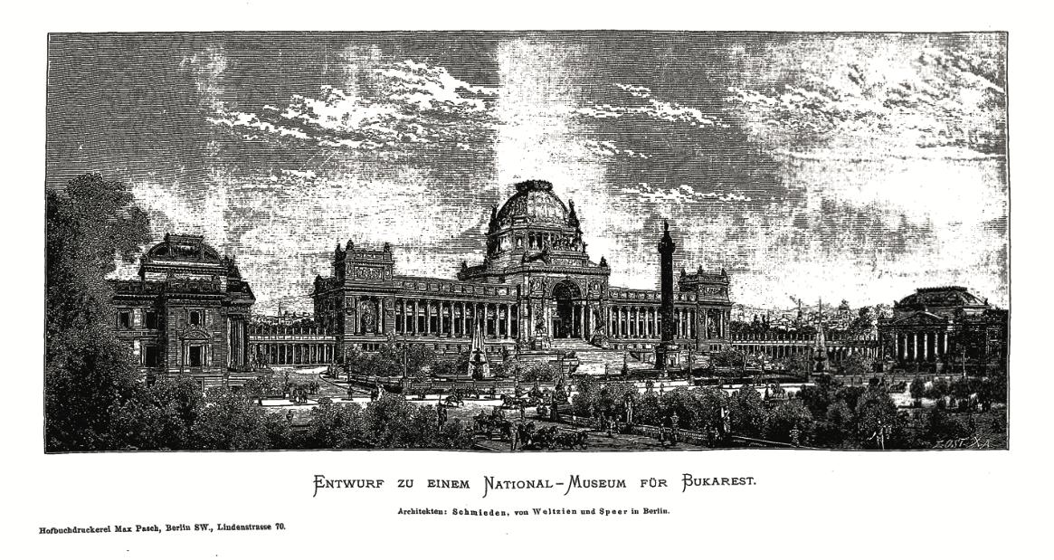 1885, Muzeul Național din București. O tentativă germană