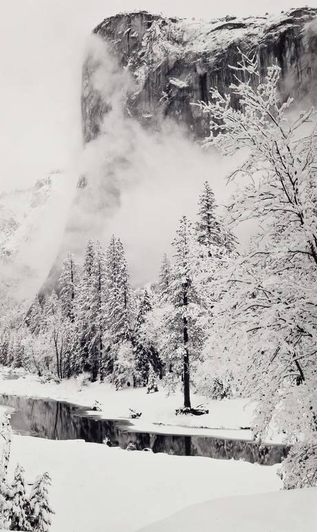 O americano Ansel Adams se notabilizou por suas fotos da natureza - Ansel Adams / Divulgação