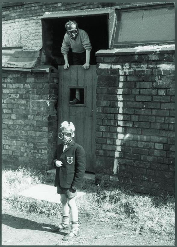 Uma imagem da britânica Shirley Baker nas ruas de Manchester. | SHIRLEY BAKER