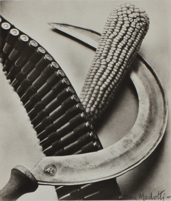 Tina Modotti Bandelier - Corn and Sickle - 1927