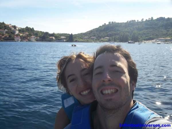 Islas Elafiti en moto de agua