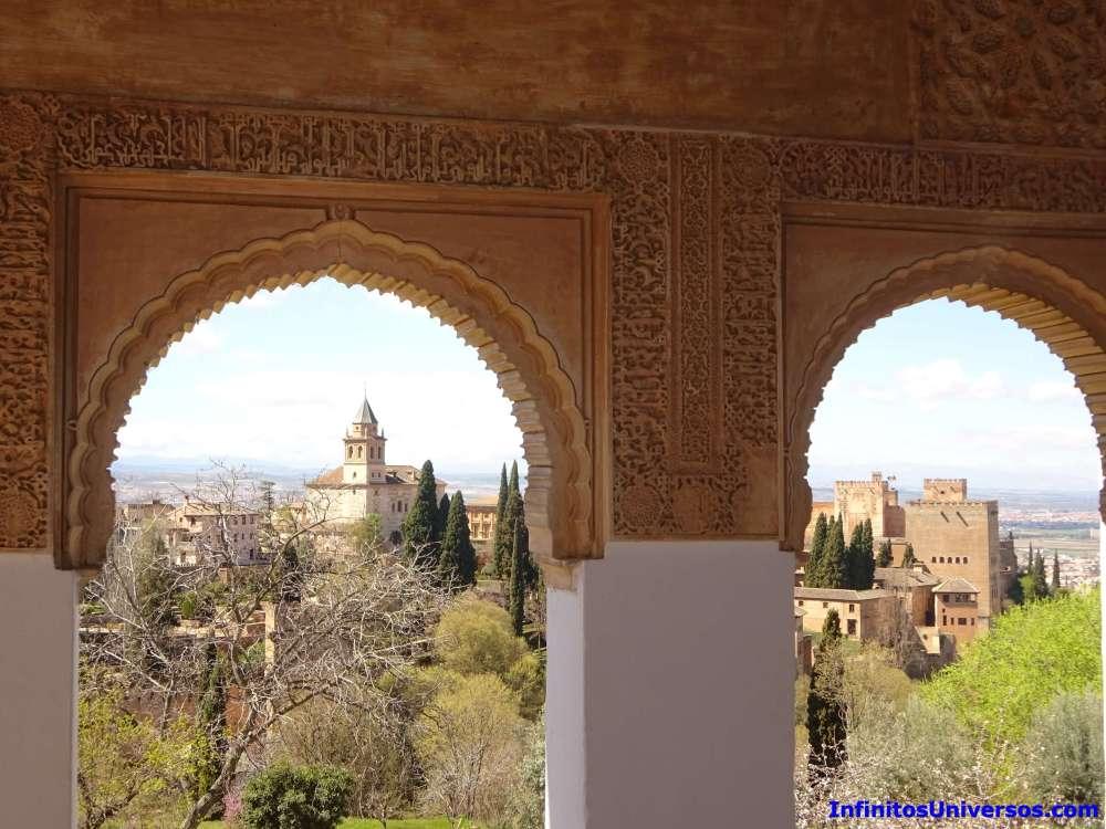 Vistas desde el Generalife alhambra