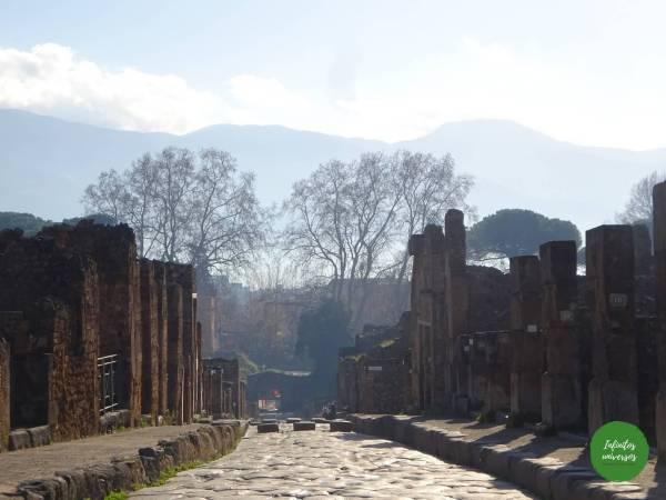 calles de pompeya parque arqueologico de pompeya