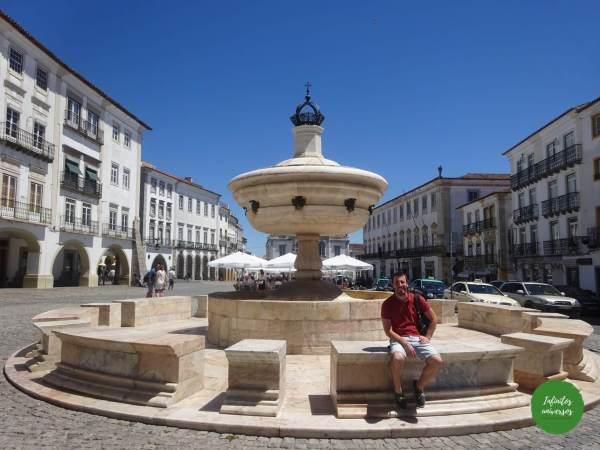 Praça do Giraldo Évora que ver en evora portugal