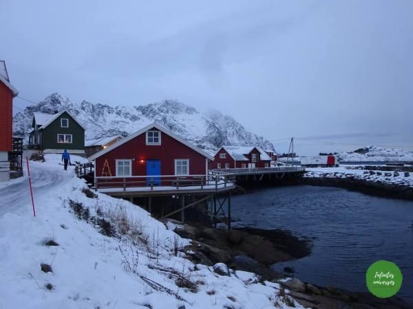 Henningsvær noruega