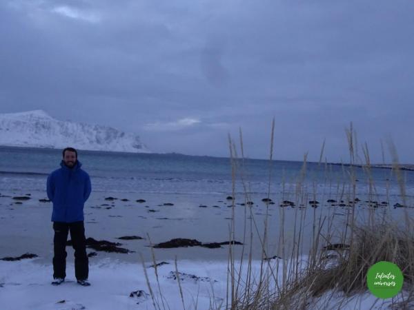 Playa de Ramberg - Laponia noruega Viaje a la Laponia noruega en una semana: visitas, mapa y consejos