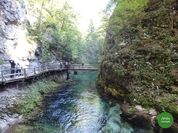 Garganta Vintgar que ver en eslovenia
