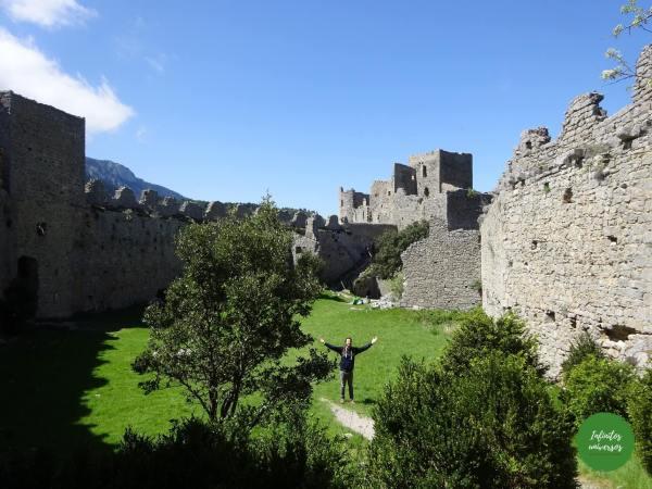 Castillo de Puilaurens - Ruta por los castillos cátaros Ruta por los castillos cátaros, sur de Francia castillos del sur de francia