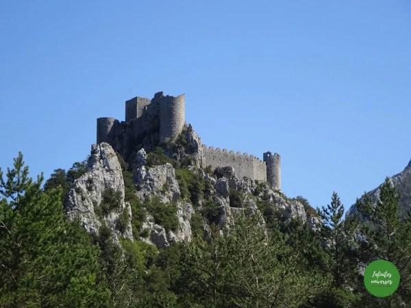Ruta por los castillos cátaros (Francia)