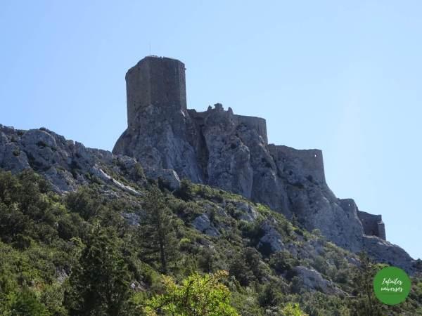 Castillo de Quéribus  - Ruta por los castillos cátaros Ruta por los castillos cátaros, sur de Francia castillos del sur de francia