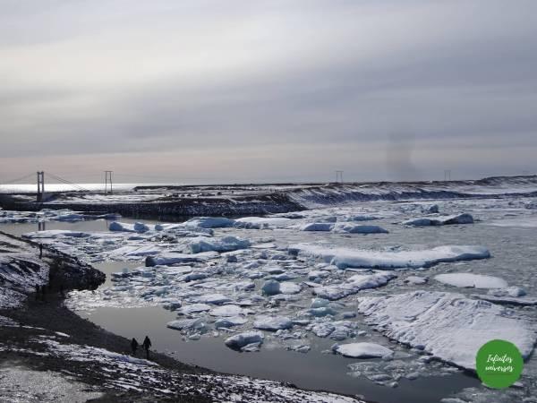 Lago glaciar Jökulsárlón- Islandia en 4 dias