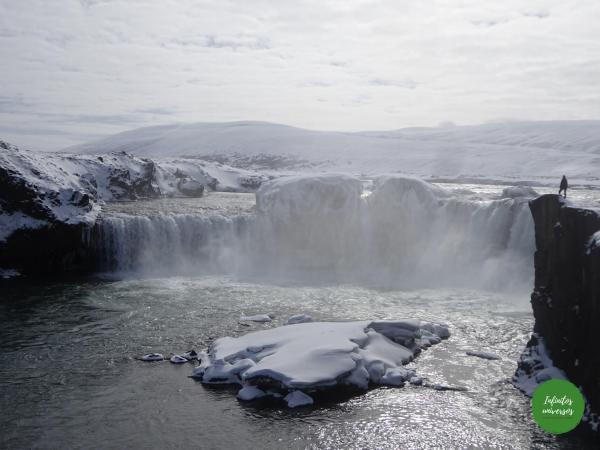 Cascada Godafoss Ruta por las Cascadas del norte de Islandia: Godafoss, Dettifoss, Selfoss y Hafragilsfoss
