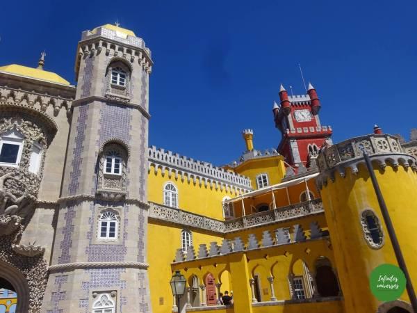 Palacio da Pena  - Qué ver en Sintra en un día palacio de pena sintra portugal