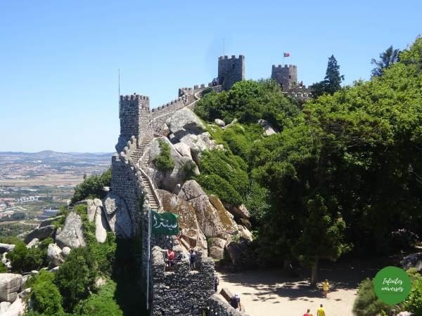 Castelo dos Mouros Sintra  - Qué ver en Sintra en un día