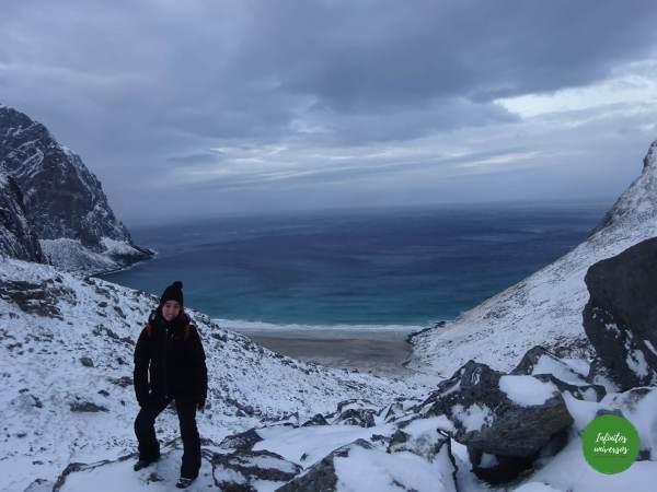 kvalvika - Laponia noruega Viaje a la Laponia noruega en una semana: visitas, mapa y consejos