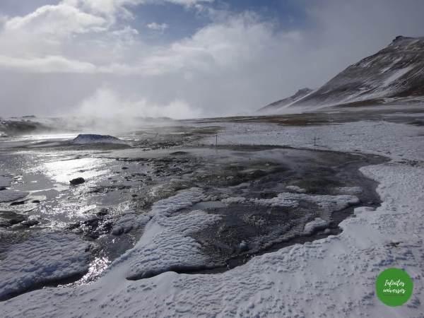 Qué ver y hacer cerca del lago Myvatn, en el norte de Islandia