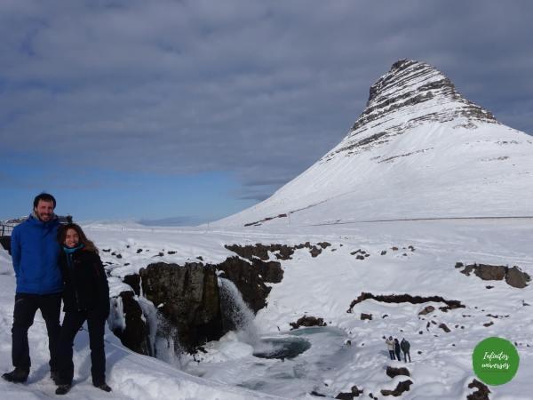 Kirkjufell- islandia