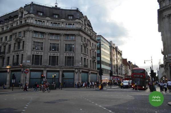 Oxford Street Londres en 4 días