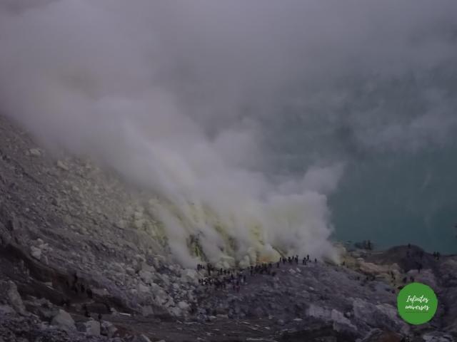 Volcán Ijen que ver en java