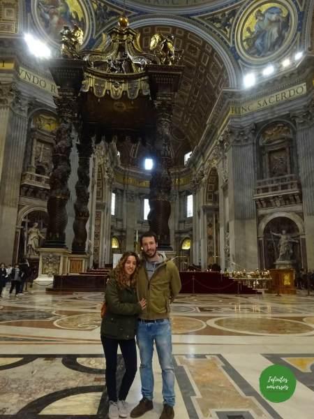 Basílica de San Pedro que ver en el vaticano
