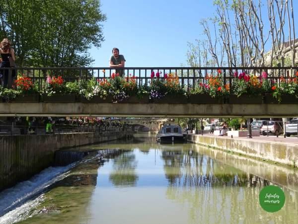 El canal de la Robine en que ver en Narbona vuelos imprescindibles en Narbona