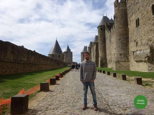 Qué ver en Carcassonne  mapa