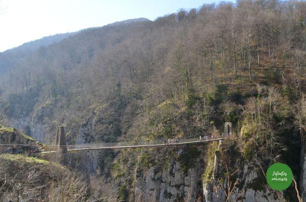 Puente colgante de Holtzarte ruta puente colgante de holtzarte pasarela de holtzarte y garganta de kakueta
