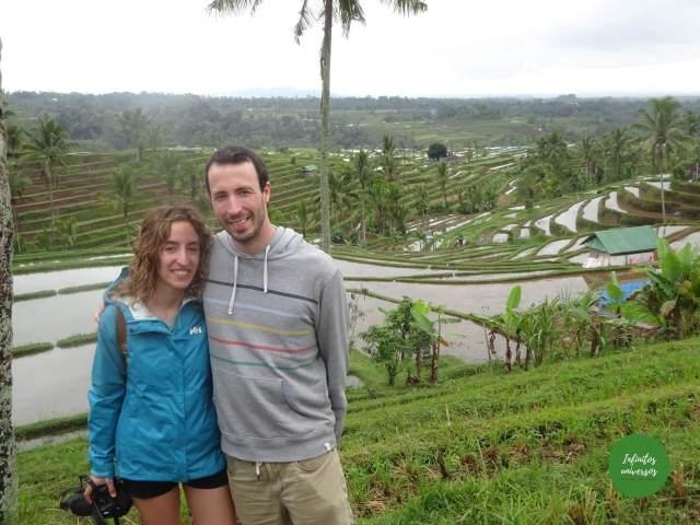 Terrazas de Jatiluwih norte de Bali