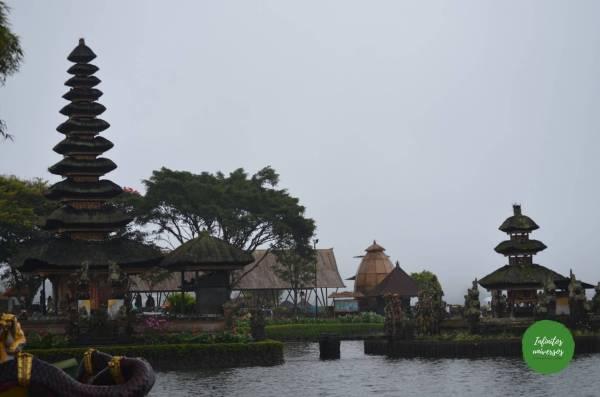 Pura Ulun Danu Bratan norte de Bali