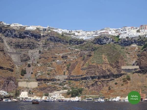 Fira desde el mar  - Grecia en 10 días