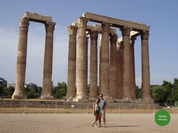 que hacer en Atenas en 2 días templo de zeus olimpico