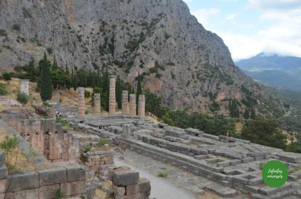 Yacimiento Arqueológico de Delfos (Grecia)  que ver en grecia