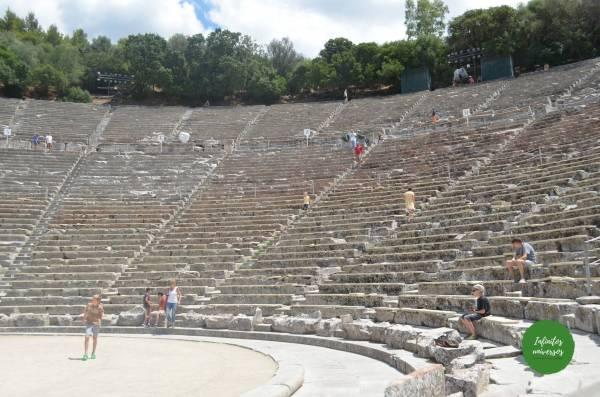 Teatro de Epidauro -en el Peloponeso
