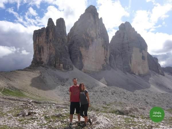 Tres Cimas de Lavaredo Dolomitas Italia - Ruta por los Dolomitas en 10 días