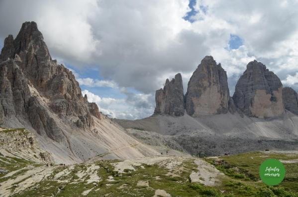 Tres Cimas de Lavaredo Dolomitas Italia Que ver cerca de Cortina d'Ampezzo