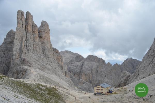 torres Vajolet towers - Ruta por los Dolomitas en 10 días