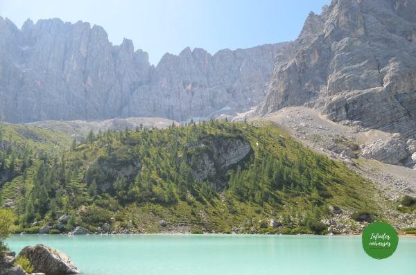 Lago di Sorapis dolomitas