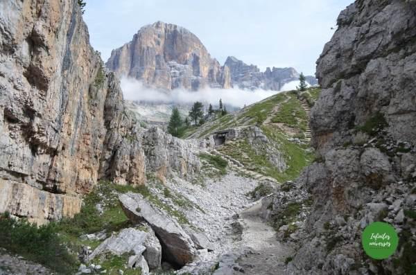Cinco Torres- Que ver en los Dolomitas trekking dolomitas
