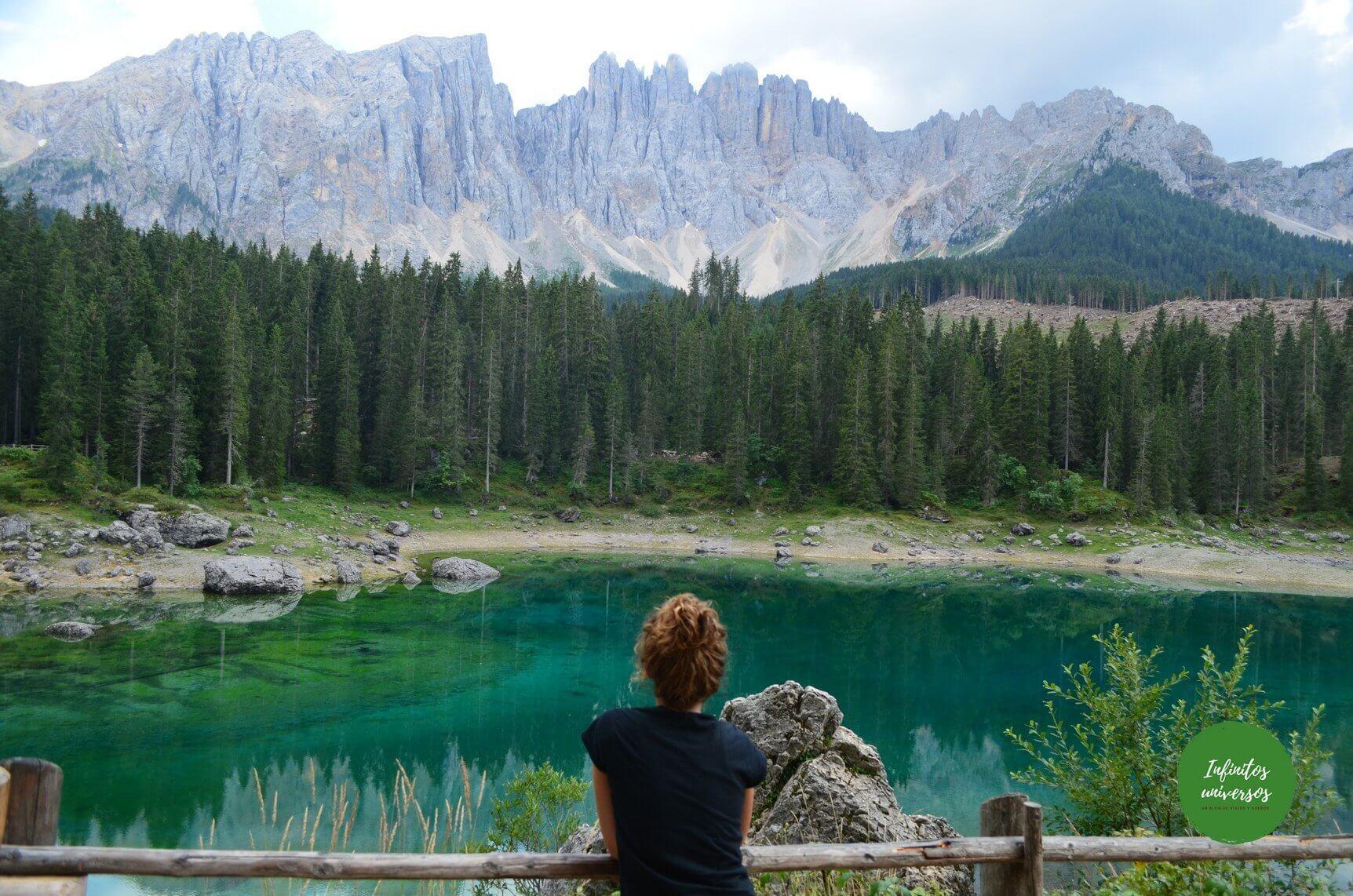 Lago Carezza viaje dolomitas 10 días