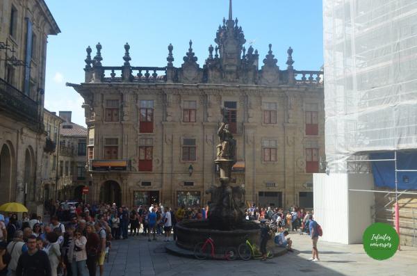Plaza de Platerías - Que ver en Santiago de Compostela