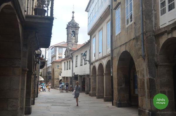 Paseando por Santiago de Compostela
