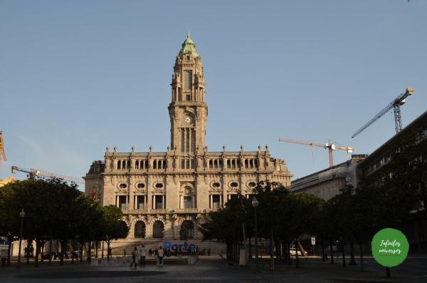 Avenida de los Aliados - Que hacer en Oporto
