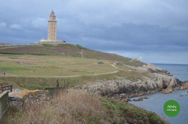 Ruta por Galicia en una semana Torre de Herculés A Coruña