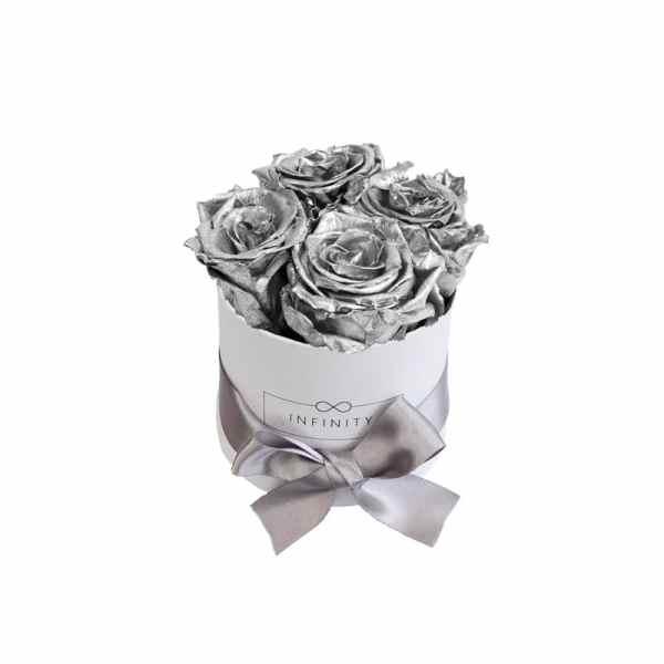 Produktbild Infinity Small Silver weiße Box