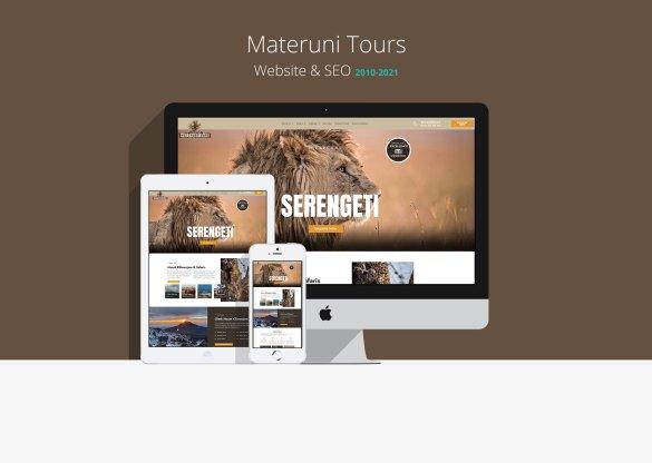 Materuni Tours Website