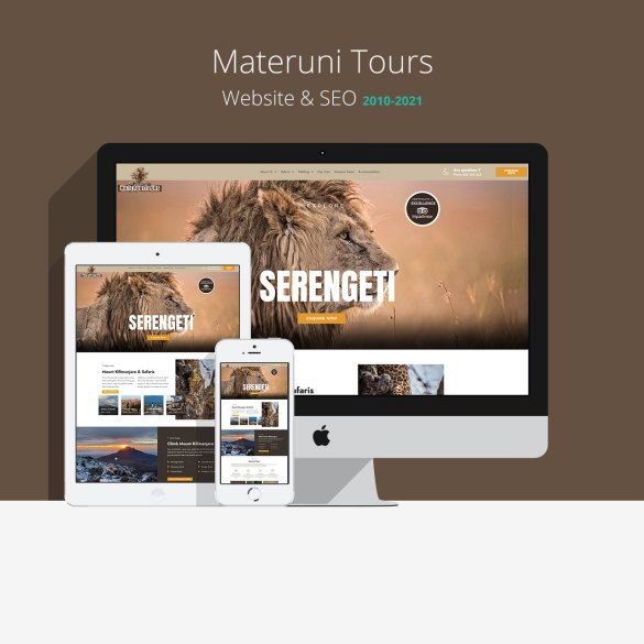 Materuni Tours Website