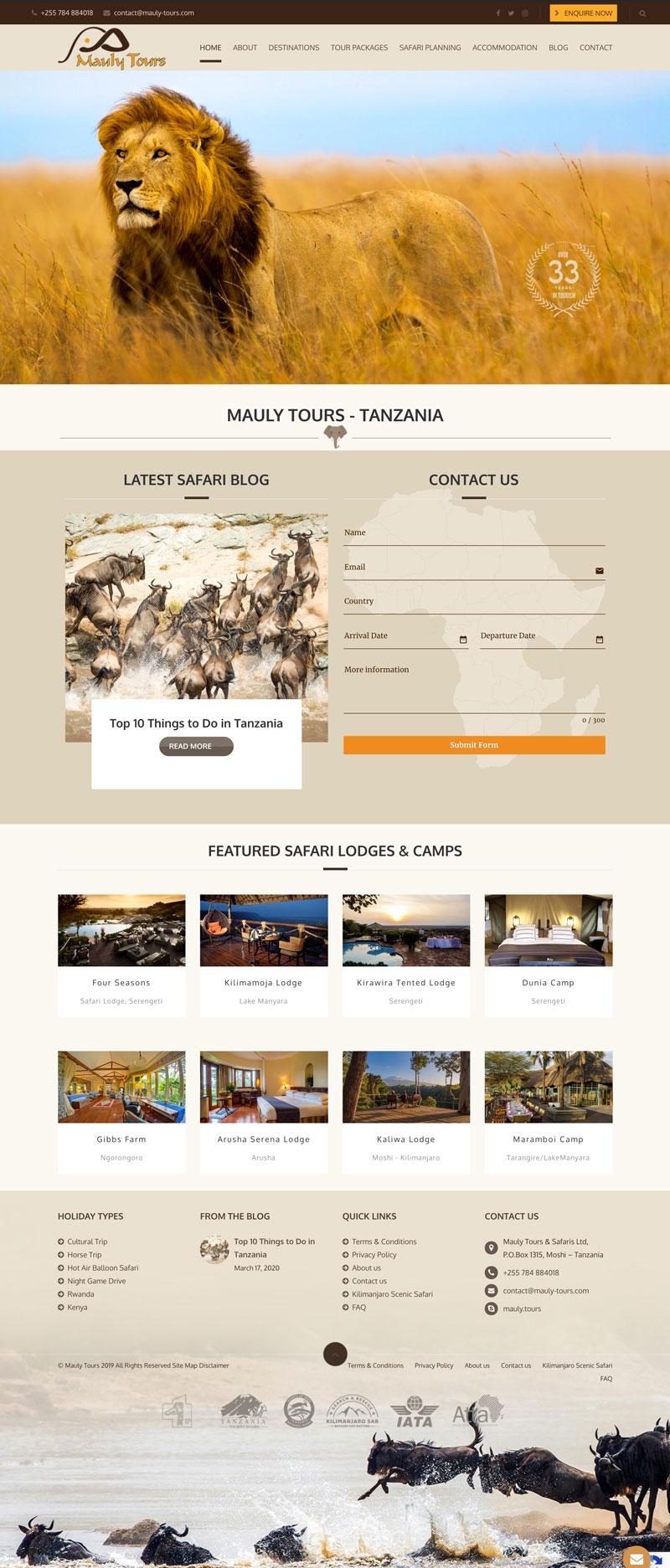 web design east africa